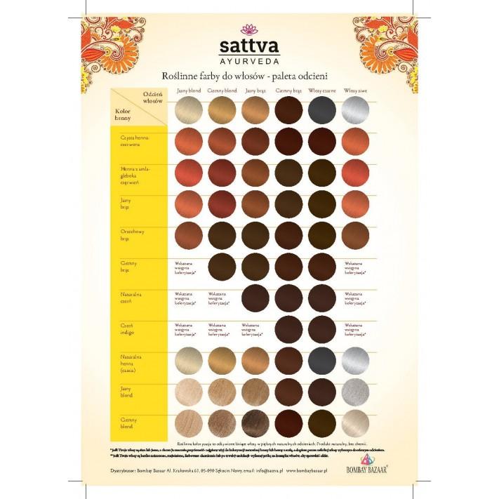 SATTVA Henna Jasny brąz, 150 g