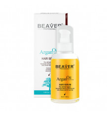 BEAVER Argan Oil Regenerujące, odżywcze serum do włosów, 50ml