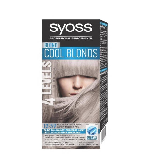 SYOSS Classic farba do włosów Blond...