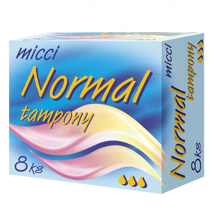 MICCI TAMPONY NORMAL, 8 szt