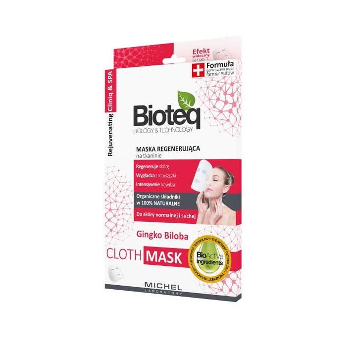BIOTEQ Maska regenerująca na tkaninie