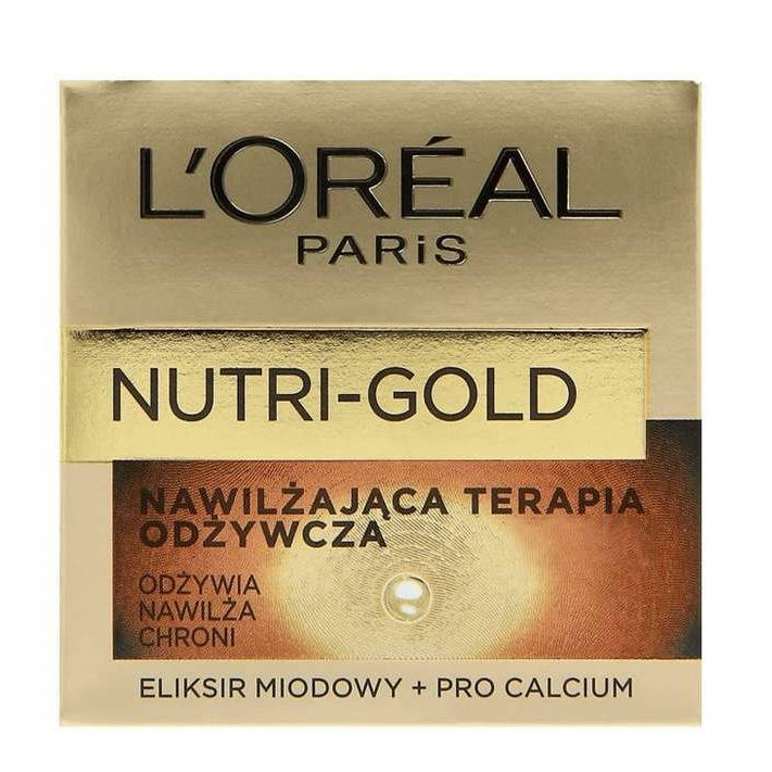 L`Oreal Nutri Gold Krem nawilżająco...