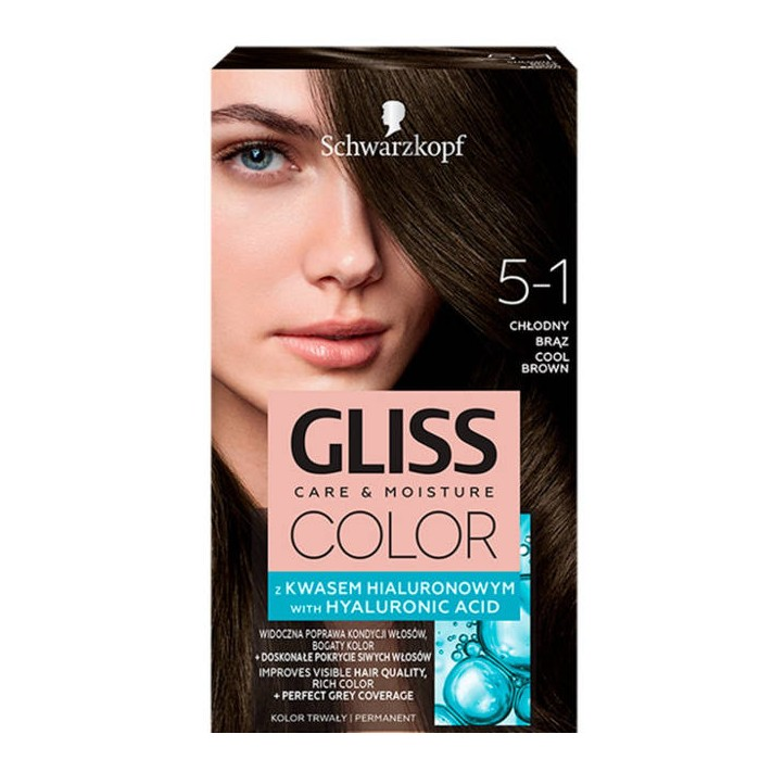 GLISS COLOR krem koloryzujący 5-1...