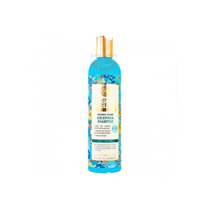 NATURA SIBERICA Zwiększający objętość szampon do włosów, rokitnikowy, 400 ml