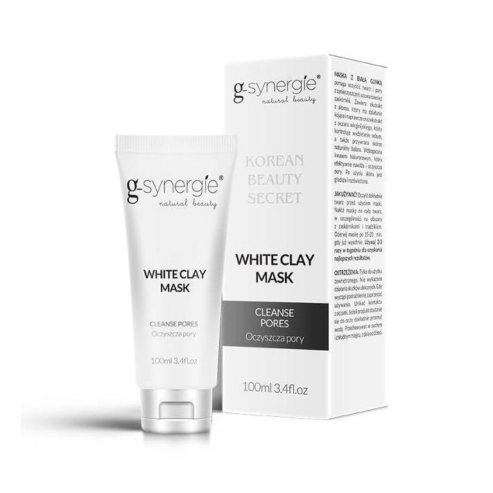 G-SYNERGIE Maska z białą glinką, 100 ml