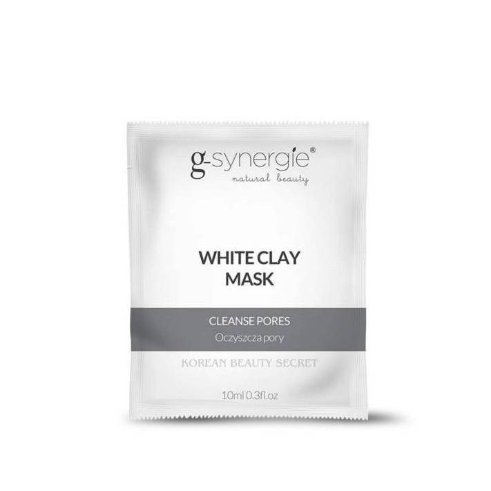 G-SYNERGIE Maska z białą glinką, 10 ml
