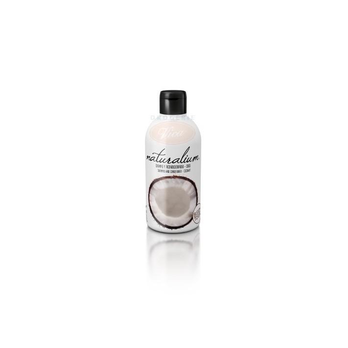 NATURALIUM Kokosowy szampon z odżywką, 400 ml