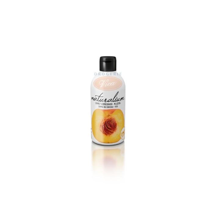 NATURALIUM Brzoskwiniowy szampon z odżywką, 400 ml