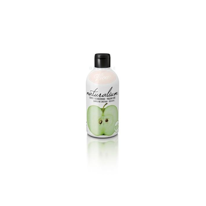 NATURALIUM Zielone jabłuszko - Szampon z odżywką, 400 ml