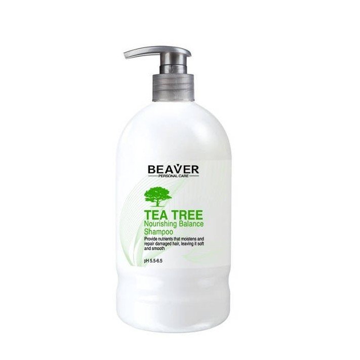 BEAVER Szampon Tea Tree, 600 ml