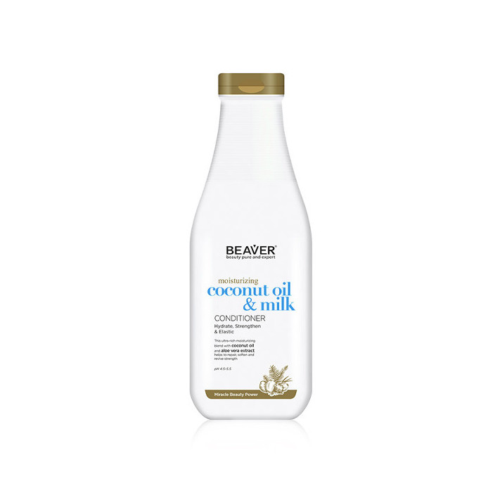 BEAVER Odżywka Coconut Oil & Milk,...