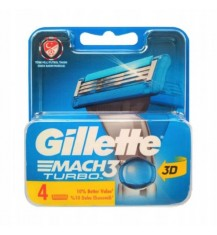 GILLETTE MACH 3 TURBO...