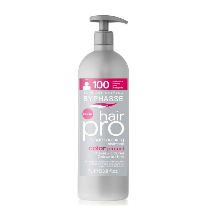 BYPHASSE PRO Szampon do włosów farbowanych, 1000 ml