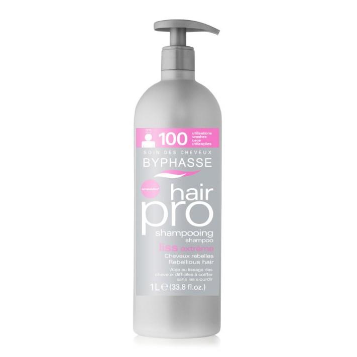 BYPHASSE PRO Wygładzający szampon do włosów, 1000 ml