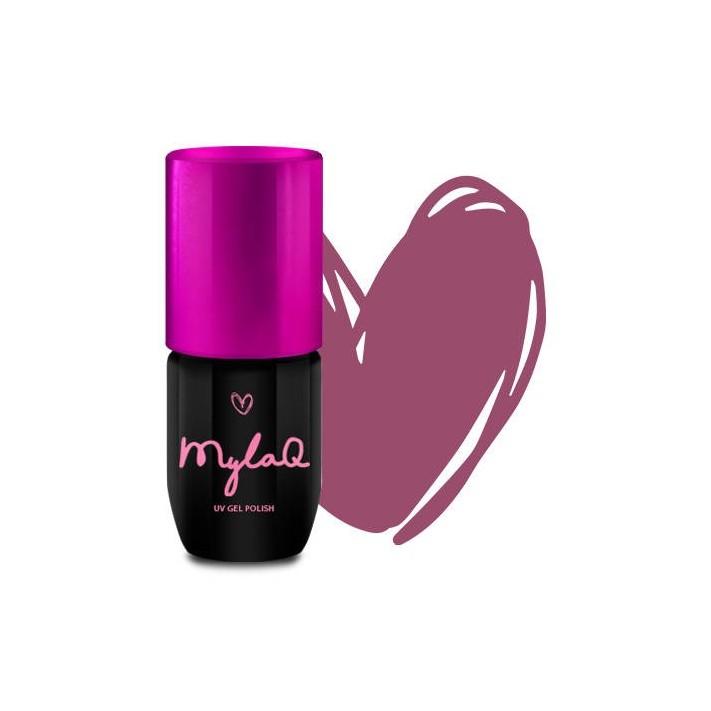 MYLAQ Lakier hybrydowy My Pink...