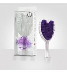 TANGLE ANGEL Szczotka do włosów, Wow White Box, fioletowo-biała