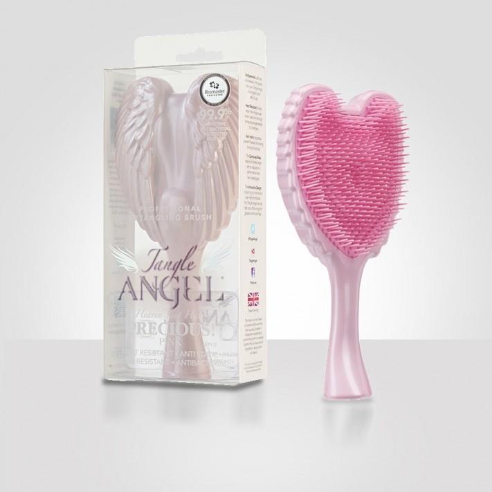 TANGLE ANGEL Szczotka do włosów - Precious Pink Box, różowa