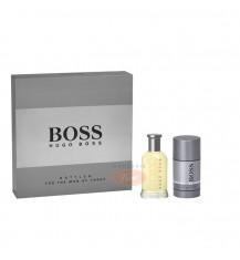 HUGO BOSS Bottled Men Zestaw 100% Oryginał (woda toaletowa 50ml + dezodorant w sztyfcie 75ml)