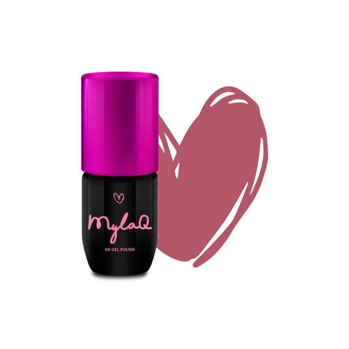 MYLAQ Lakier hybrydowy My Dirty Pink,...