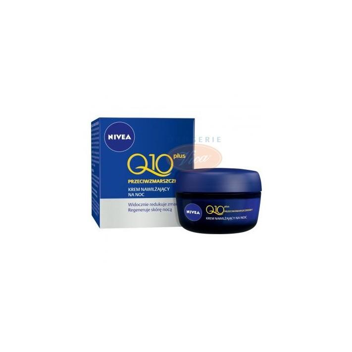 NIVEA Przeciwzmarszczkowy krem na noc Q10 Plus 50 ml