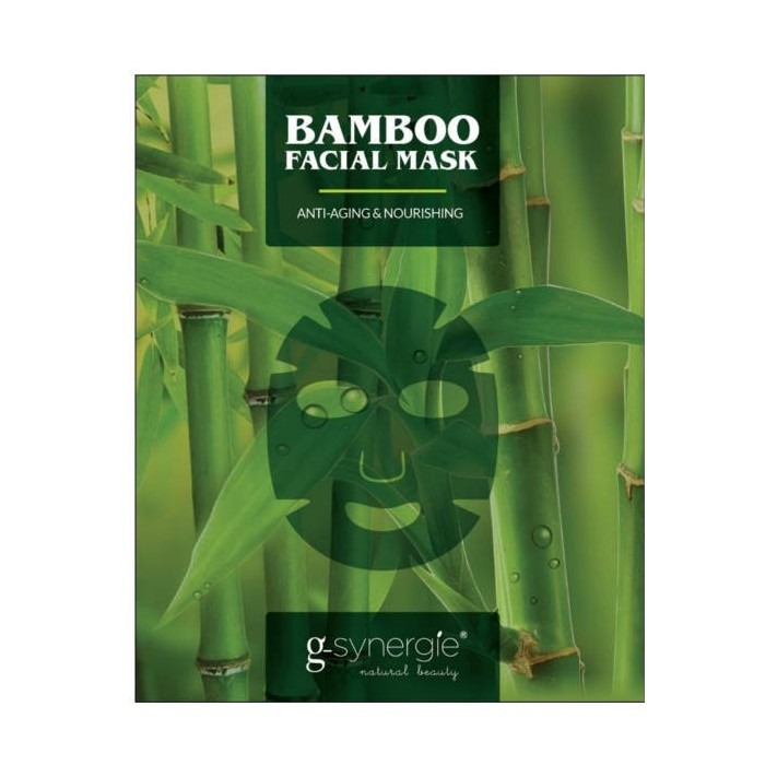 G-SYNERGIE Bamboo Maska do twarzy, 7 szt