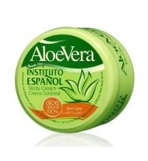 INSTITUTO ESPANOL ALOE VERA Nawilżający krem do ciała i rąk na bazie aloesu, 400 ml