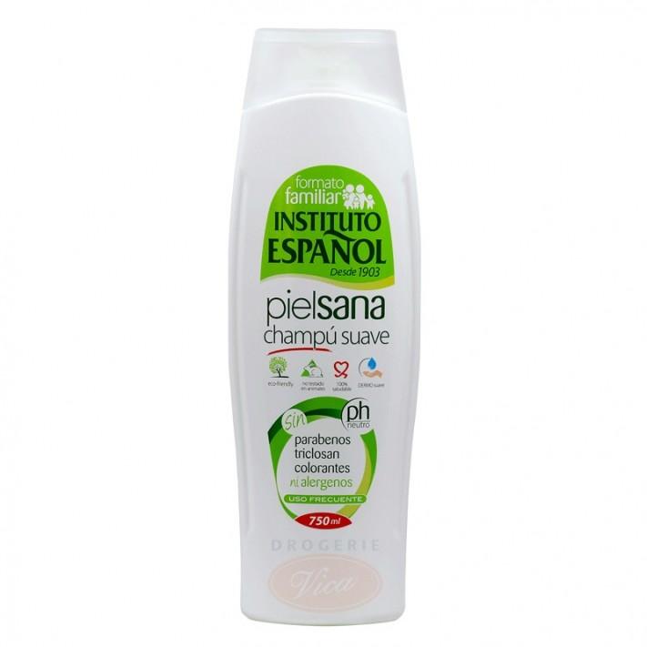 INSTITUTO ESPANOL PIEL SANA Delikatny szampon do włosów, skóra wrażliwa, 750 ml