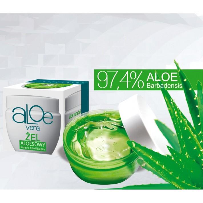 Aloe Vera Żel kojąco-nawilżający, 30 g