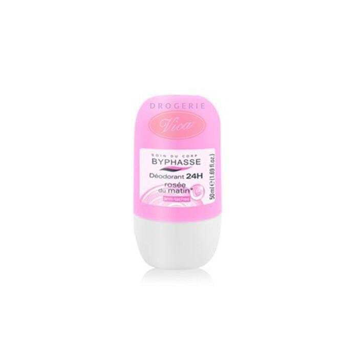 BYPHASSE BODY Różany dezodorant roll-on, 50ml