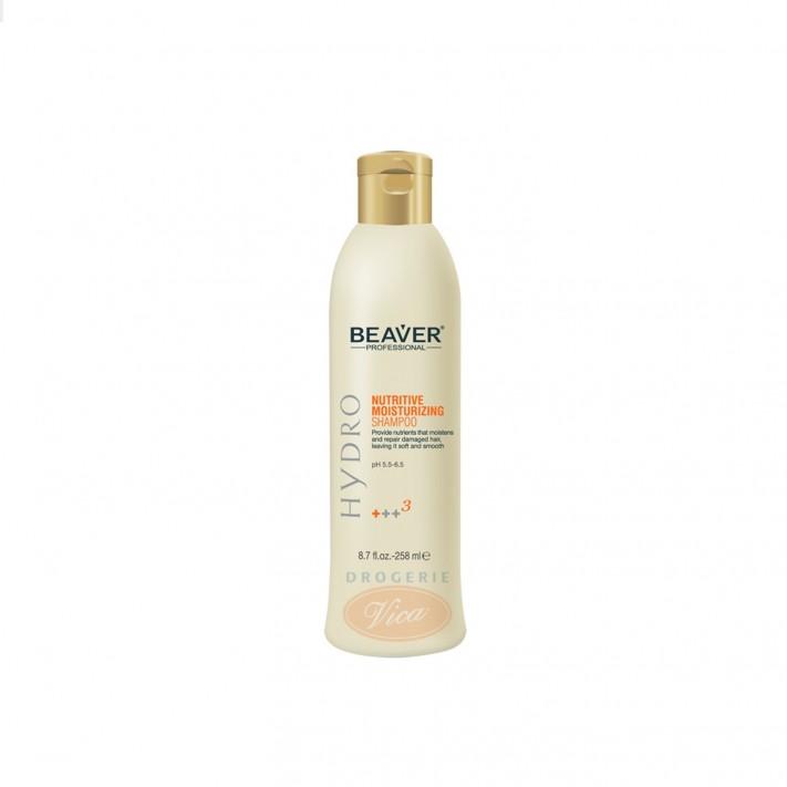BEAVER Odżywiający szampon z odżywką do włosów suchych i zniszczonych, 258 ml
