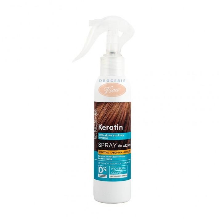 DR SANTE Odżywka Spray z keratyną, argininą i kolagenem, do włosów matowych i łamliwych 150ml
