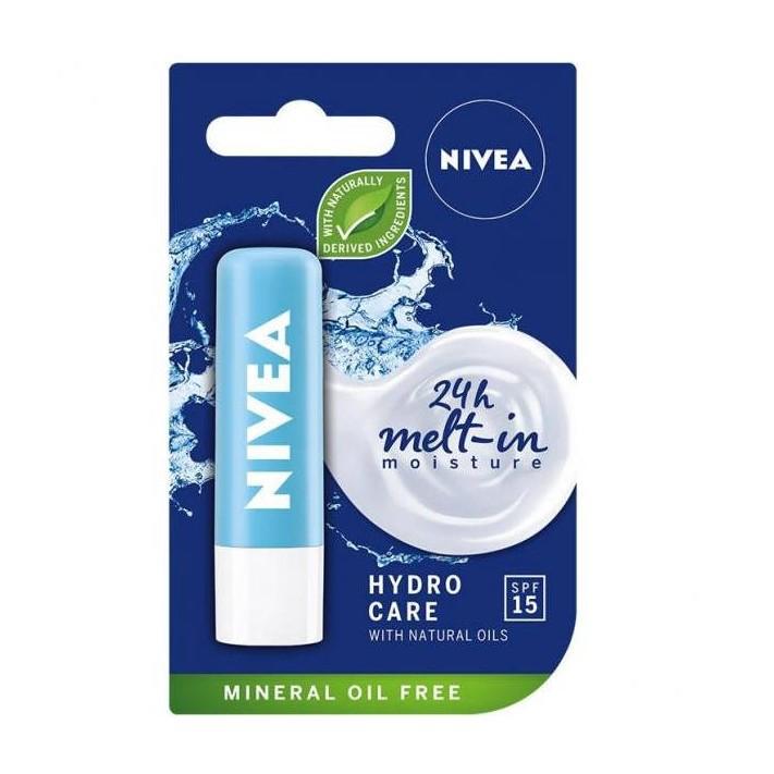 NIVEA Pomadka nawilżająca Hydro Care...