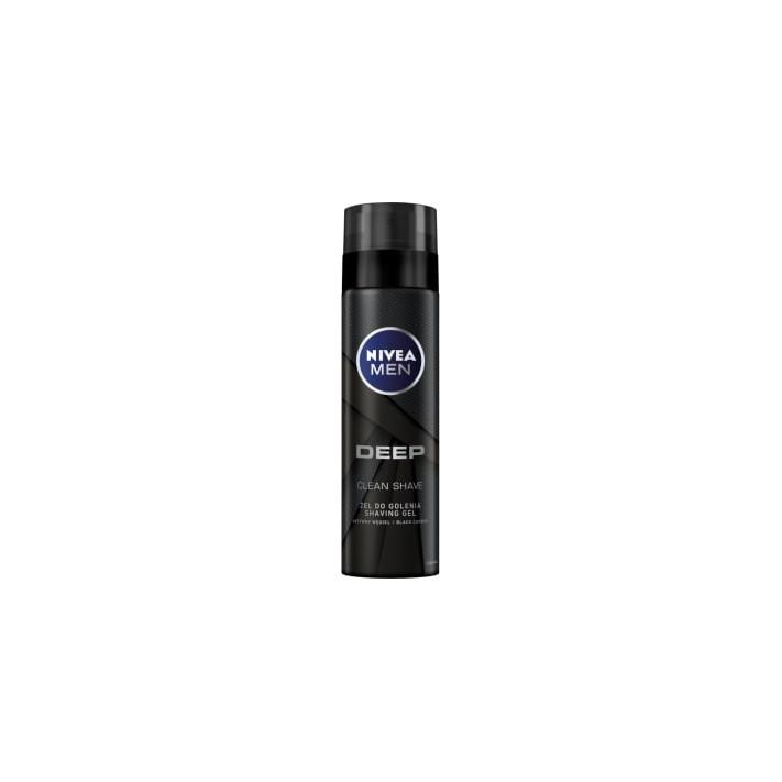 NIVEA MEN Deep Żel do golenia, 200ml