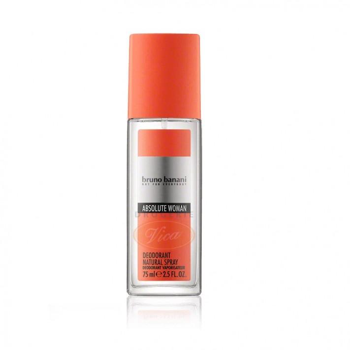 BRUNO BANANI Absolute Woman, dezodorant perfumowany, 75ml