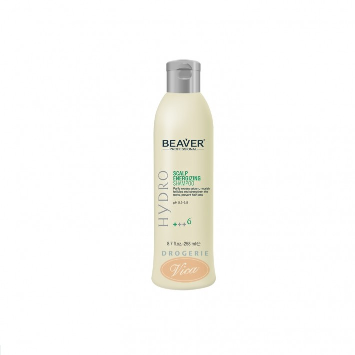 BEAVER Szampon do włosów przeciw wypadaniu, 258 ml