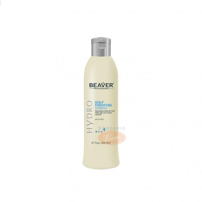 BEAVER Oczyszczający, przeciwłupieżowy szampon do włosów, 258 ml