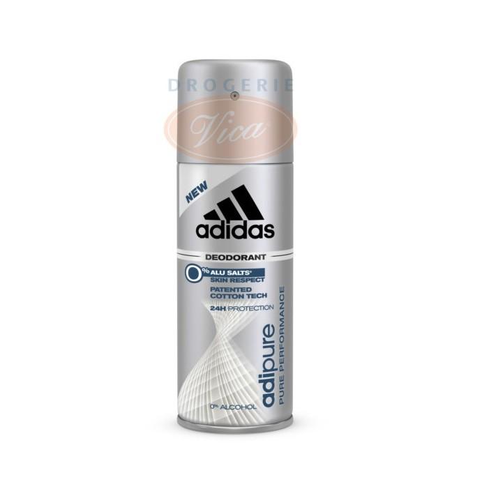 ADIDAS Men Adipure Dezodorant spray, 150ml