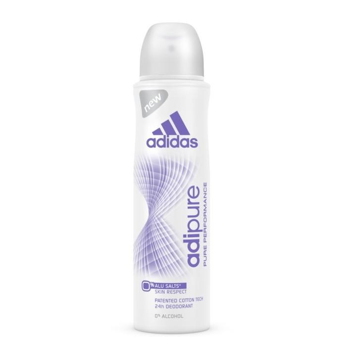 ADIDAS Women Adipure Dezodorant spray, 150ml