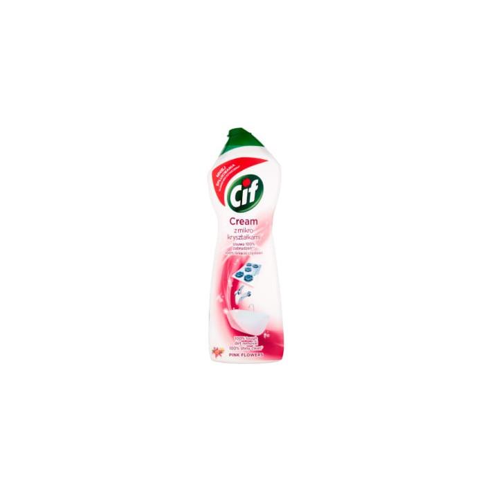 CIF Mleczko do czyszczenia Pink...
