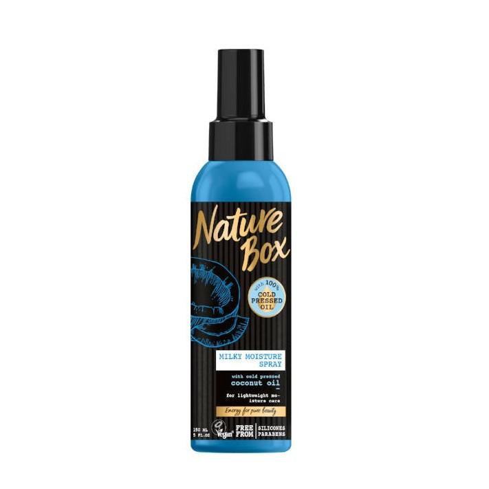 NATURE BOX Spray do włosów kokos, 150 ml
