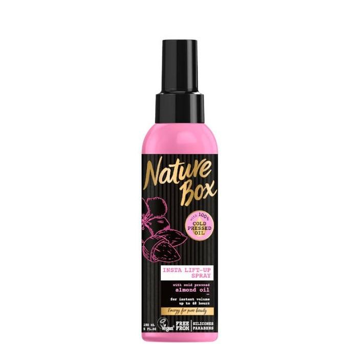 NATURE BOX Spray do włosów migdał,...