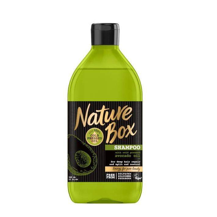 NATURE BOX Szampon do włosów awokado,...