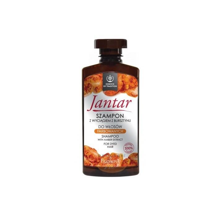 FARMONA Jantar szampon do włosów farbowanych, 330 ml