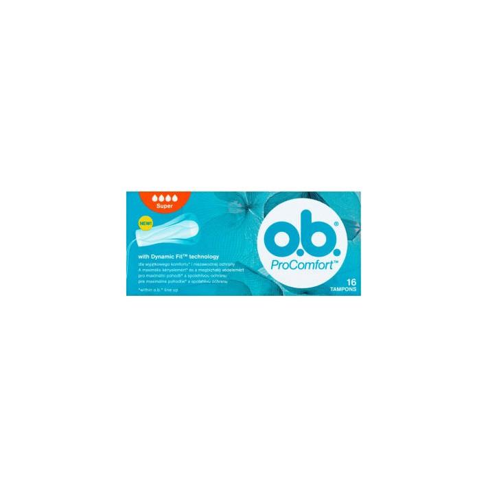 O.B.® ProComfort Tampony Super 16...