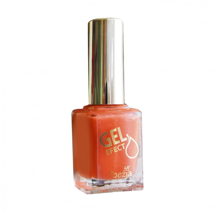 POEZJA Żelowy lakier do paznokci, Pomarańcza 924, 11ml