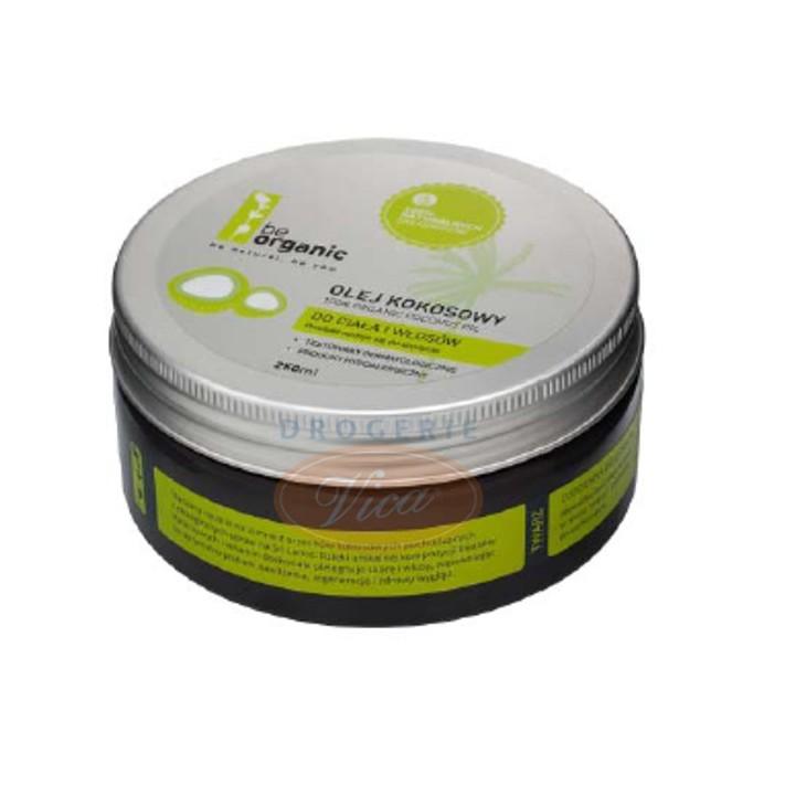 BE ORGANIC Organiczny olej kokosowy, 250ml