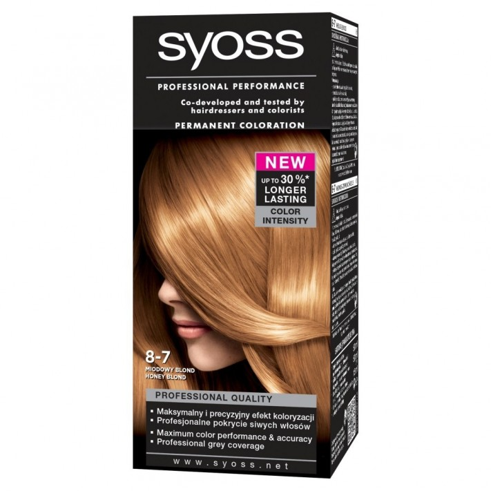 Syoss, Color, farba do włosów 10-5...