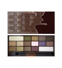 MAKEUP REVOLUTION I Love Make Up Palette Zestaw cieni do powiek Heart chocolate (16 kolorów), 22 g