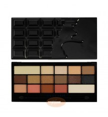 MAKEUP REVOLUTION I Love Make Up Palette Zestaw cieni do powiek Chocolate Vice (16 kolorów), 22g