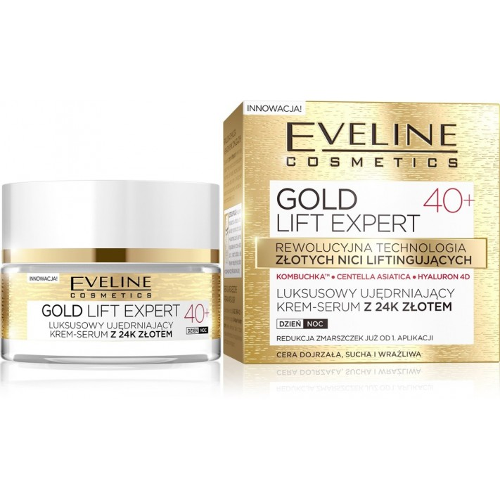 Eveline Gold Lift Expert krem-serum...